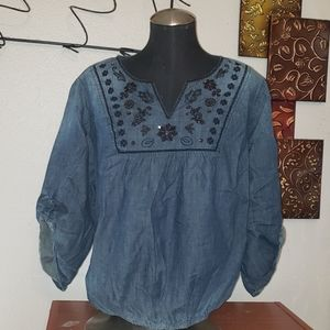 Embellished cato top plus size 18/20